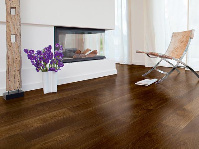 Holzfußboden Optik ~ Bodenbeläge gestaltung in holz