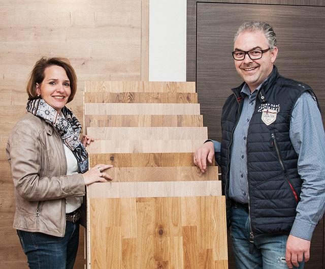 Petra und Daniel Albani - Gestaltung in Holz