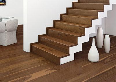 Treppenbeläge aus Holz