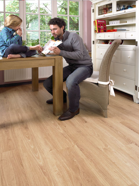 Limfjord Laminat bei Gestaltung in Holz