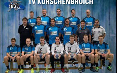 Sponsor der 2. Mannschaft des TV-Korschenbroich