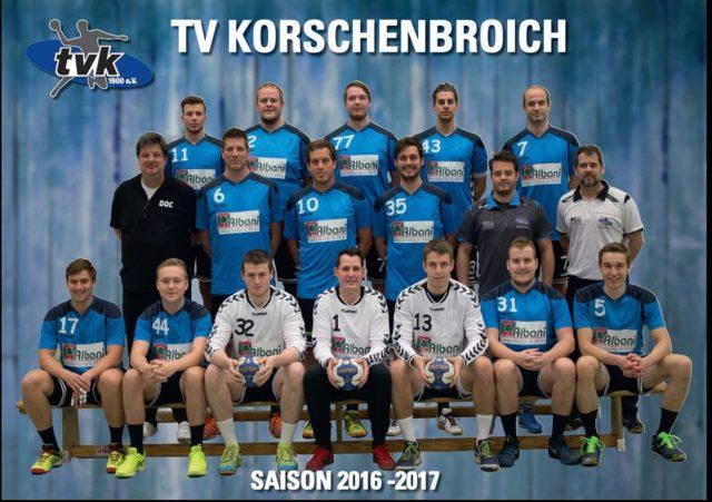 2.Herren-Handballmannschaft des TVK Korschenbroich
