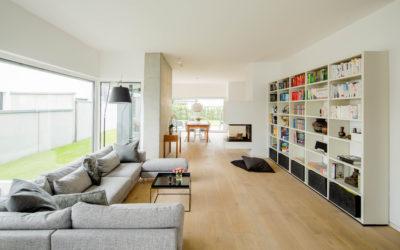 Modernes Wohnen und räumliche Vernetzung