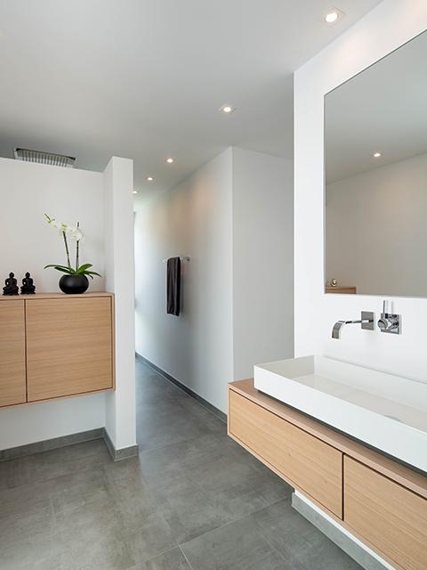 modernes wohnen und r umliche vernetzung gestaltung in holz. Black Bedroom Furniture Sets. Home Design Ideas