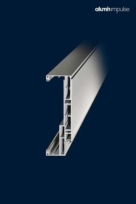alumin impulse Zargenquerschnitt