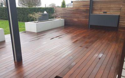 Terrassenaufarbeitung