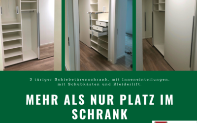 """Aktion """"mehr Platz im Schrank"""" individuelle Möbel vom Tischler"""