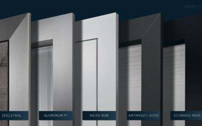 Türen von alumin impulse bei Gestaltung in Holz