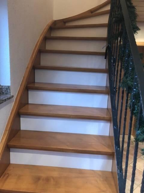 Treppe absichern nachher
