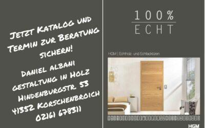 100% ECHT | HGM Echtholz- und Echtlacktüren