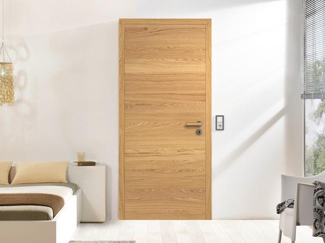 Eiche Natur Türen